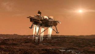 Kínai űrszonda landolt a Holdon