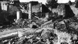 Pompeji története feketén-fehéren