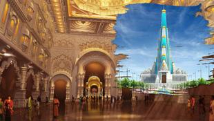 Építészeti csoda Indiában