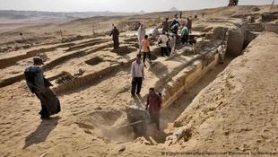 Királynésírt találtak Egyiptomban