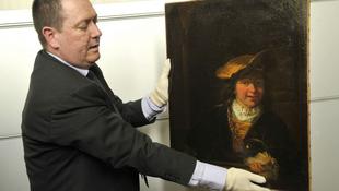 Előkerült egy lopott Rembrandt-kép
