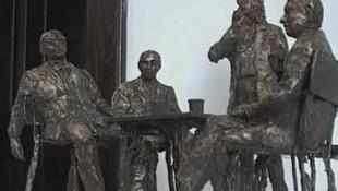 Felavatták Nagyváradon a Holnaposok szoborcsoportját