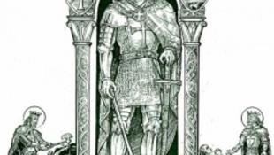A három méter magas Szent László