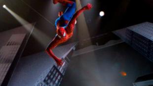 Újabb baleset a Pókember előadásán