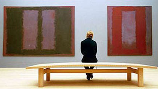 Újra látható a megrongált Rothko-festmény