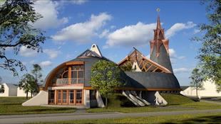 Két Makovecz-templom is épül Budapesten