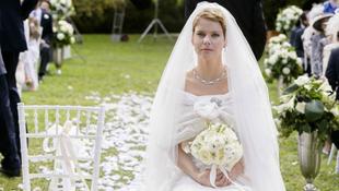 Zűrös esküvő a magyar színésznőtől