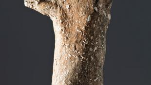 Különös agyagszobor rejtőzött a barlangban
