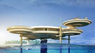 Épül a víz alatti csoda, Dubaj újabb extrém csalija