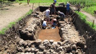 Római fürdőt tártak fel Grúziában