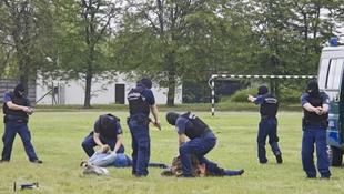 Látványos rendészeti bemutatóra készülnek a hatóságok