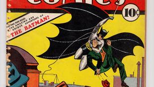 Elárverezik az első Batman-képregényeket