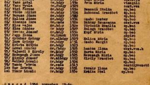 MÉH telepen találták meg az ÁVH-dolgozók listáját