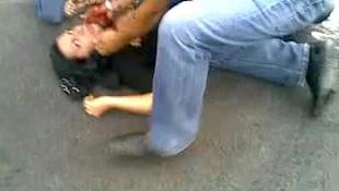 Egy iráni diáklány meggyilkolását rögzítették - videóval