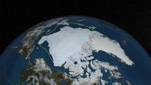 """Az Északi-sarkvidék """"sötétedése"""" is melegíti a Földet"""