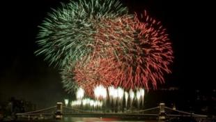 Világújdonság az esti tűzijátékban