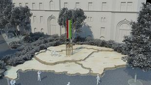 Nagy-Magyarország formájú emlékművet állít Kecskemét