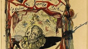 Postán fogták el a lopott Dalí festményt