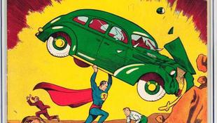 Supermanért fizettek a legtöbbet