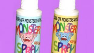 Szörnyriasztó spray-t hoztak forgalomba gyerekeknek