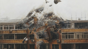 Berobbant a művészet a galériába