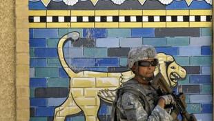 Ókori romokat romboltak a katonák Irakban