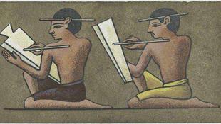 Írnok-sírt tártak fel Egyiptomban