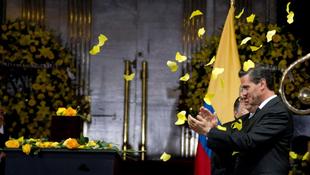 Sárga virágokkal búcsúztatták Márquezt