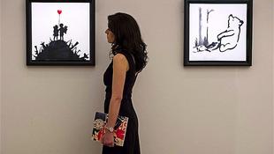 Rekord árat fizettek a Banksykért