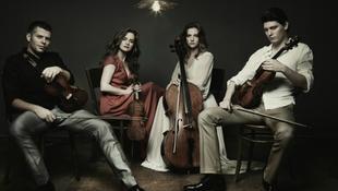 Kelemen Kvartett az új Zeneakadémián