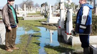 Temetési tilalom a magas belvíz miatt