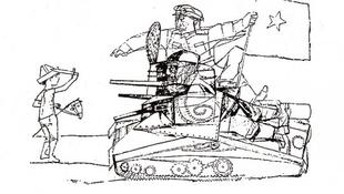 Sodró erejű rajzok 1956-ról