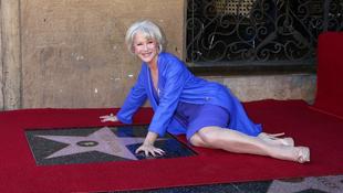 Helen Mirren csillagát avatták