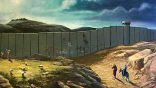 Karácsonyi képeslap Banksy-től