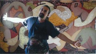 Hazánkban a mexikói mester falfestményei