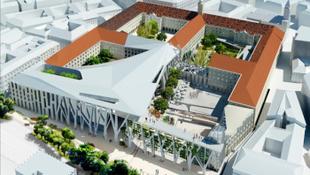 Holland tervek alapján töltik be az űrt Budapest közepén