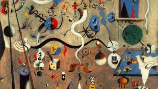 Miró-kiállítás nyílt Bécsben