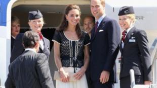 Kate és William mozi nélkül volt kénytelen repülni, kárpótlást kaptak