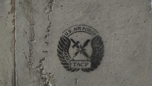 Graffitik a háborús övezetben