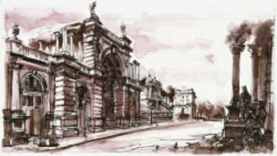 Budapest gyönyőrű rajzokon és rézkarcokon