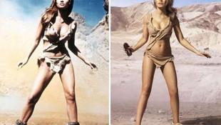 A hatvanas évek szexbombája még a mai modelleknek is példát mutat
