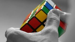 Mini Terminál Rubik kockával