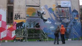 Az első normális falfirka Budapesten
