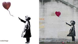 Megnőtt Banksy lufis kislánya
