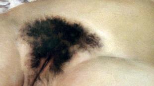 Cenzúrázták a Courbet-festményt