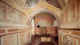 Újjászületett a római katakomba