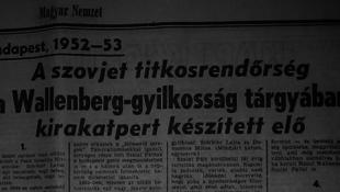 Hogyan halt meg Wallenberg? - újabb titkokra derült fény