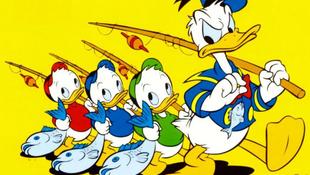 Donald kacsa is megöregedett