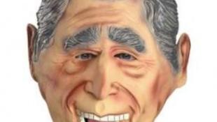 """George Bush"" bankot rabolt"
