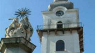 Életveszélyes sapkacsere 57 méter magasan